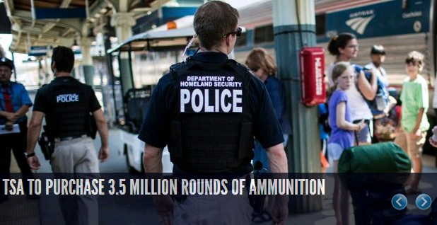 TSA to Purchase 3.5 Million Rounds of Ammunition