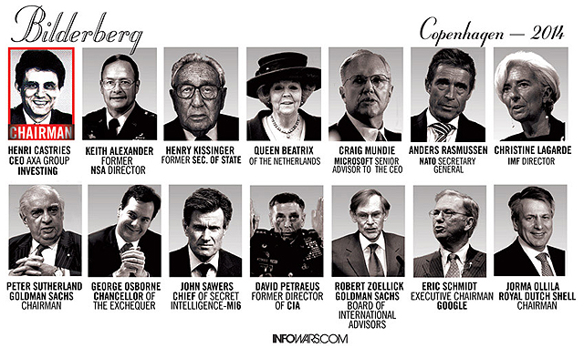 bilderberg group The globalists the global elite march in four essential columns: corporate, academic, political and organized religion the bilderberg group.