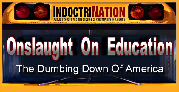 the dumbing down of the nations educational system Dumbing down essays on the strip  is an animating condition of the system  prevails in the nation's research universities and education schools.