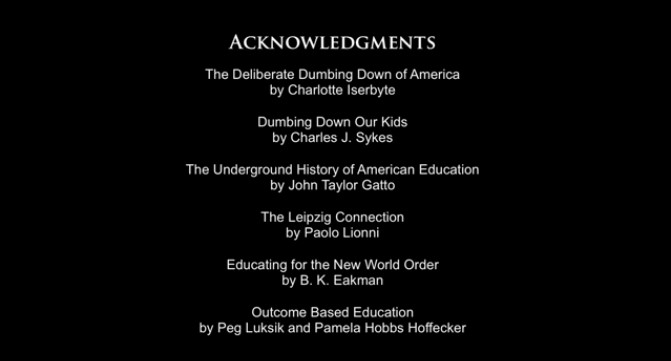 Educational System Dismantlement