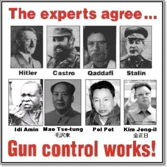 Gun Control Leads To Genocide